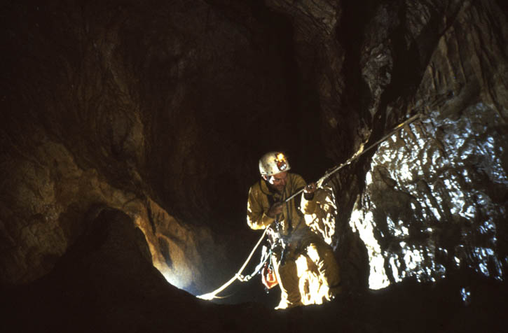 Caving in Italy (D. Wilson)